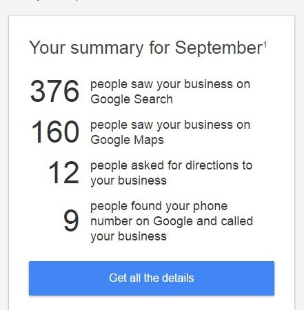 Business and Map Results – Chiropractor