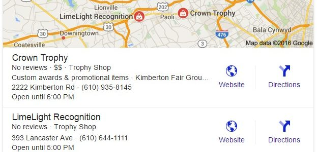 Google Local Business Visibility